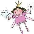 Tooth Fairy — Vector de stock #14542863