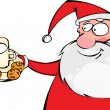 Cookies for Santa - Stock Vector