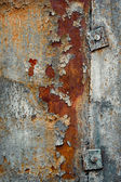 Rusty metal background — Stockfoto