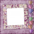 Picture frame for Valentine's Day — Stock Photo #2876899