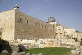 Al aqsa mezquita, jerusalén, israel — Foto de Stock