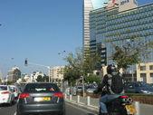 TEL-AVIV, ISRAEL - NOVEMBER 18 : Normal street Life after one of — Stock Photo
