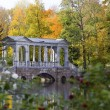 Stock Photo: Marble Bridge Tzarskoye Selo,St.Peterburg,Russia