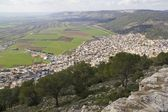 View from Transfiguration Mount .North of Israel. — Stock Photo