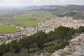 Vista dalla trasfigurazione monte .north di israele. — Foto Stock