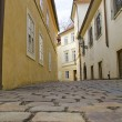 Prague old town street .Czech Republic — Stock Photo