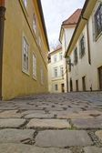 Prague old town street .Czech Republic — Stockfoto
