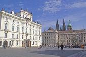 Hradcany - the Prague castel. Prague — Stock Photo
