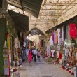 Stock Photo: And souvenirs in East market on narrow streets of Jerusalem