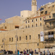 Stock Photo: Walking in old JaffPort .Israel