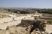 Cidade de antigas ruínas de zippori, israel. — Foto Stock