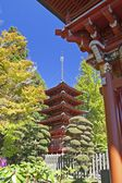 Pagoda in Japanese garden — Stock Photo