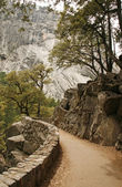 Footpath in Yosemite National Park,California,USA — Stock Photo