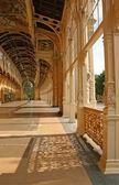Spring water Colonnade in Marienbad --Czech Republik — Stock Photo