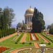 Baha'i Temple and Gardens in Haifa,Israel — Stock Photo #47478131
