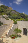 Part of Bahai Garden in Haifa North Israel — Stock Photo