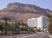 Hotel in Ein Bokek Beach near the Dead Sea ,Israel — Stockfoto