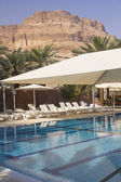Swimming pool in Hotel — Stock Photo