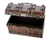 Wooden chest. — Stock Photo