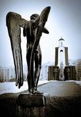 Mourning Angel — Stock Photo