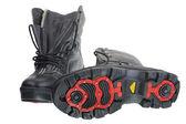 Sapatos dos homens pretos — Fotografia Stock