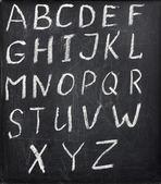 Alfabet — Stockfoto