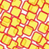 Resumen de patrones sin fisuras con cuadrados — Vector de stock