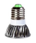 Spiegel energie-besparende led lamp — Stockfoto
