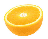Half of fresh orange — Stock Photo