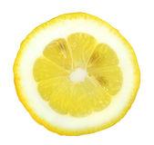 Section of yellow lemon — Stock Photo