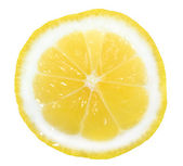 Slice of yellow lemon — Stock Photo