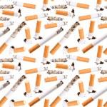 Seamless pattern of cigarette butt — Stock Photo #48466247