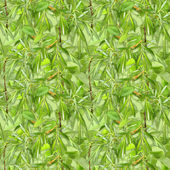 Camouflage seamless background with natural foliage — Foto Stock