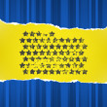 Blue stars — Stock Vector #10381137
