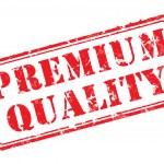 Premium quality rubber stamp — Stock Vector #13271991