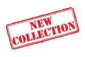 Yeni koleksiyon damgası — Stok Vektör