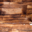 Handmade texture of paint wooden plank — ストック写真