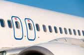 Línea aérea del pasajero — Stok fotoğraf