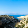 Beautiful landscape of Mediterranean sea — Stock Photo