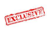 Exclusieve rubberen stempel — Stockvector