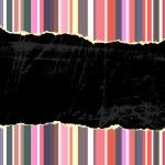 Torn vintage background — Stock Vector