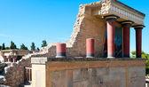 Antico sito di cnosso a creta — Foto Stock