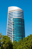 General view of modern building — Стоковое фото