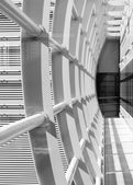 Abstract corridor, horizontal right composition — Stock Photo