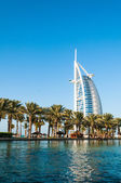 DUBAI, UNITED ARAB EMIRATES - December, 10 : A general view of t — 图库照片