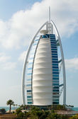 "Luxury hotel Burj Al Arab ""Tower of the Arabs"" — Stock Photo"