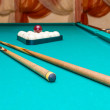 Objects For Russian Billiards — Stock Photo