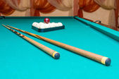 Objects For Russian Billiards — Foto de Stock
