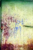 绘和划痕的金属表面 — 图库照片
