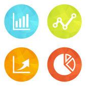Set icons — Stock Vector